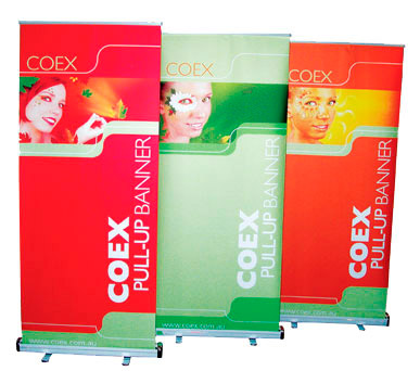 Retractable Banners from colorcopiesusa.com
